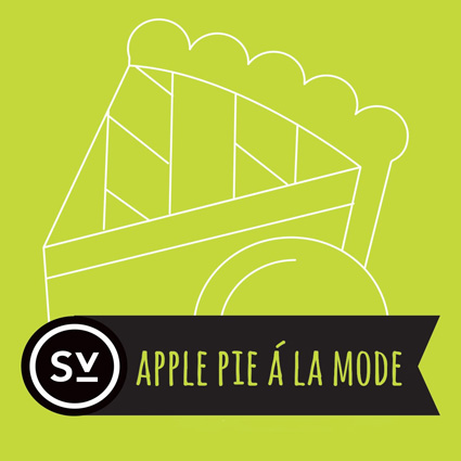 【Apple Pie á la Mode】(60ml) SIMPLY VAPOUR画像