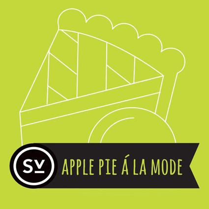 【Apple Pie á la Mode】(60ml) SIMPLY VAPOUR画像