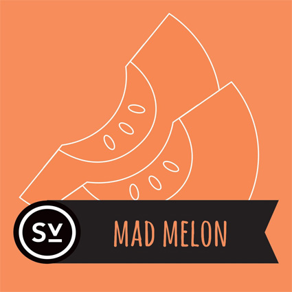 【Mad Melon】(60ml) SIMPLY VAPOURの画像