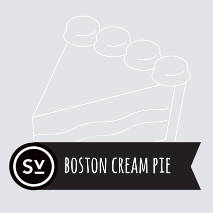 【Boston Cream Pie】(60ml) SIMPLY VAPOUR画像