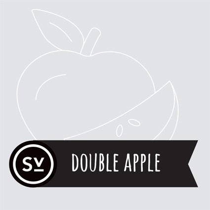 【Double Apple】(60ml) SIMPLY VAPOURの画像