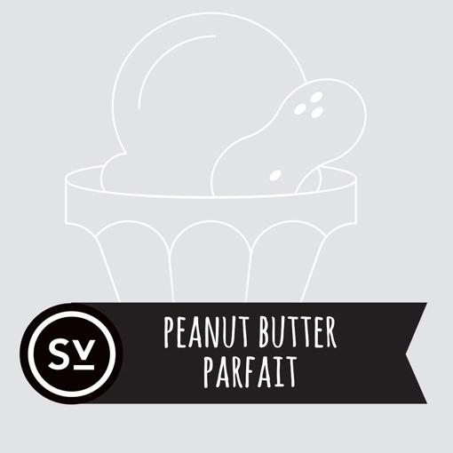 【Peanut Butter Parfait】(60ml) SIMPLY VAPOURの画像