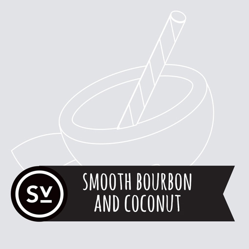 【Smooth Bourbon & Coconut】(60ml) SIMPLY VAPOURの画像