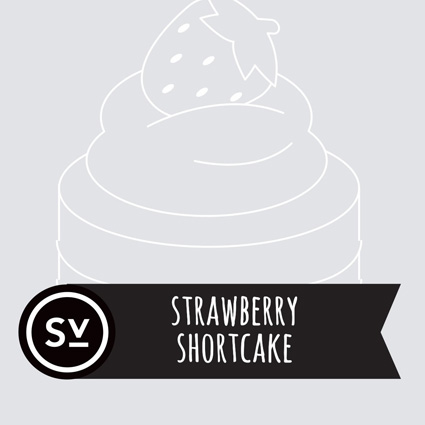 【Strawberry Shortcake】(60ml) SIMPLY VAPOURの画像