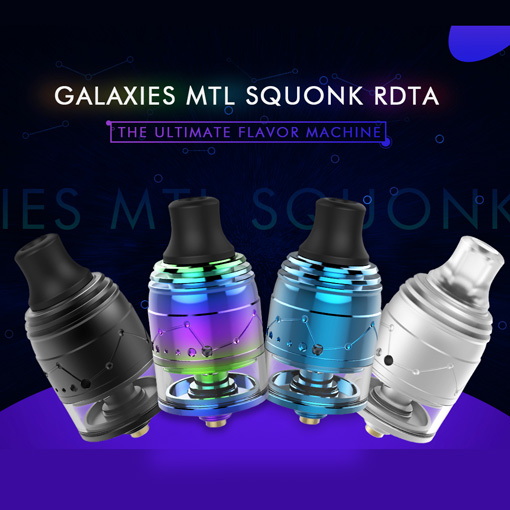 【Galaxies MTL Squonk RDTA】Vapefly画像