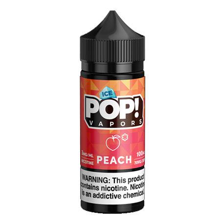 【ICED PEACH GUMMIES】(100ml)ICED CANDY POP!画像