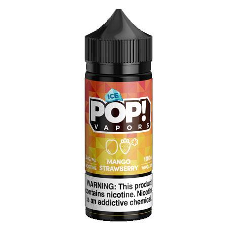 【ICED MANGO STRAWBERRY】(100ml)ICED FRUIT POP!画像