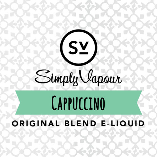 【Cappuccino】(30ml) SIMPLY VAPOURの画像