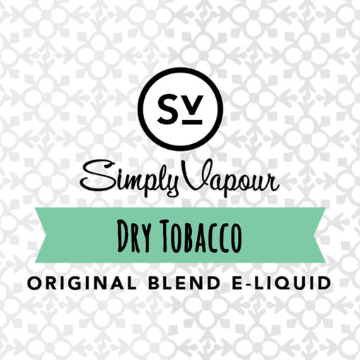 【Dry Tobacco】(30ml) SIMPLY VAPOURの画像