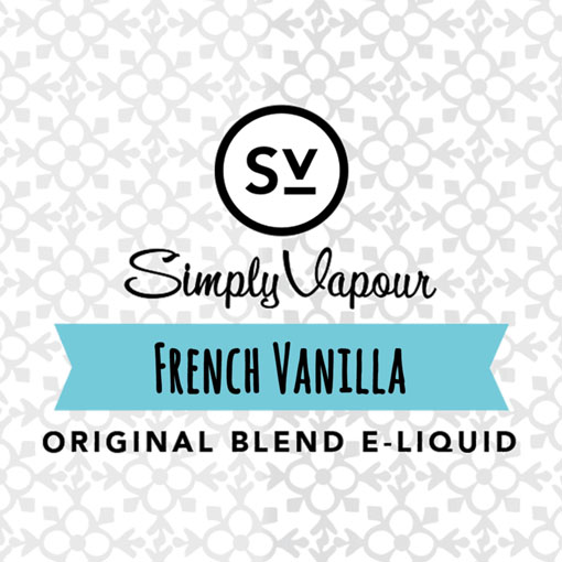 【French Vanilla】(30ml) SIMPLY VAPOURの画像