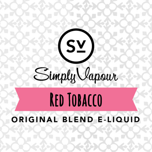 【Red Tobacco】(30ml) SIMPLY VAPOURの画像