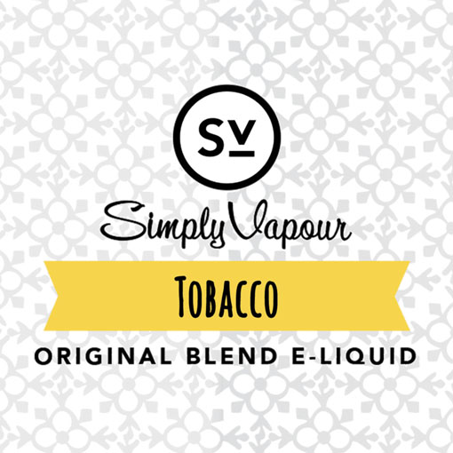 【Tobacco】(30ml) SIMPLY VAPOURの画像