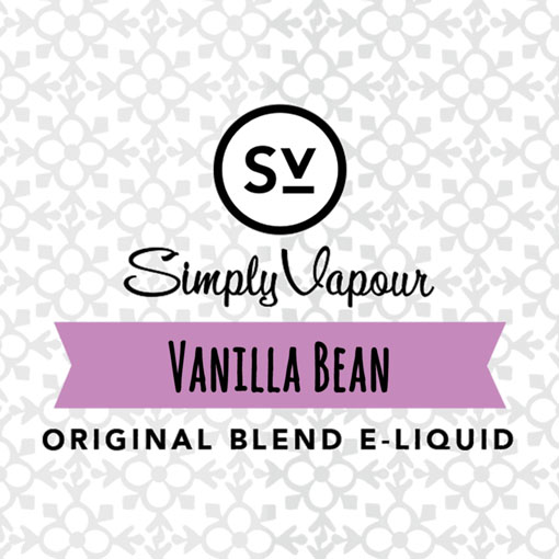 【Vanilla Bean】(30ml) SIMPLY VAPOURの画像