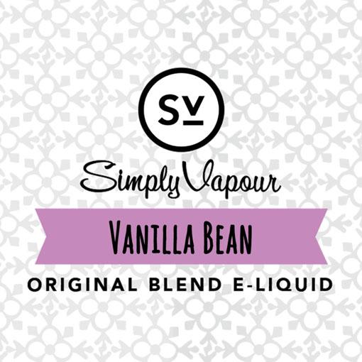 【Vanilla Bean】(30ml) SIMPLY VAPOUR画像