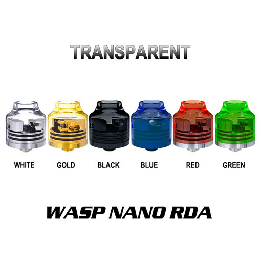 【Wasp Nano RDA Transparent Version】OUMIERの画像
