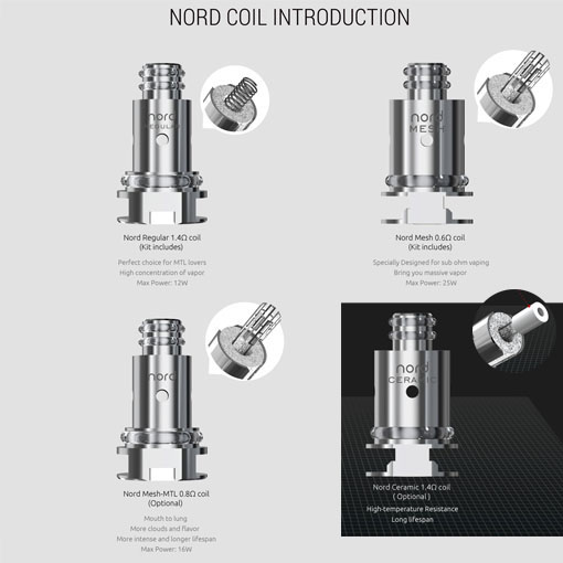 【NORD Coil】SMOKの画像