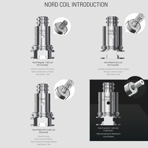 【NORD Coil】SMOK画像