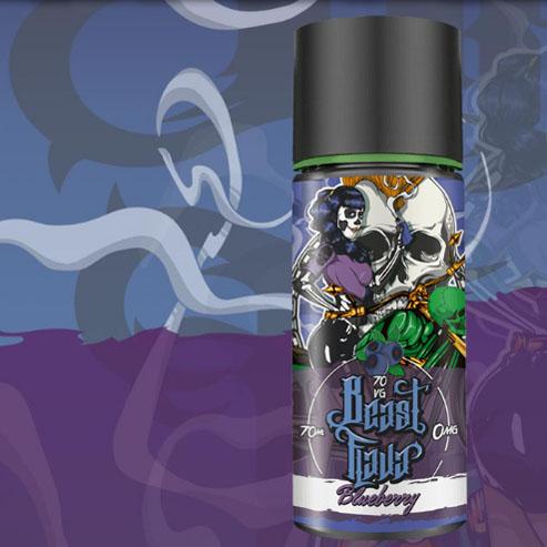 【BLUEBERRY】(70ml)Beast Flava画像