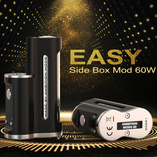 【Easy Side Box Mod 60W】Ambition Mods and R. S. S. -Sunboxの画像