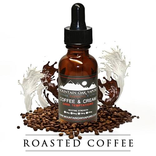 【COFFEE & CREAM】(30ml) MOUNTAIN OAK VAPORSの画像