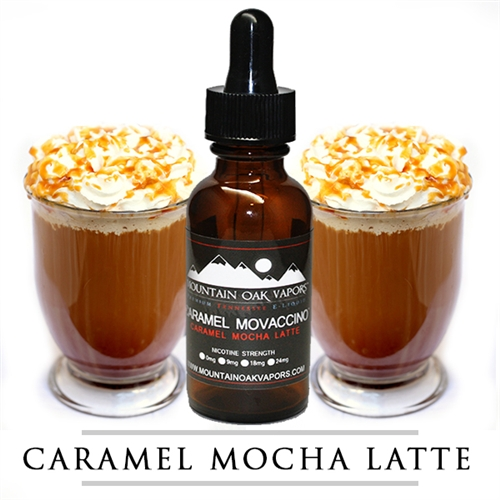 【CARAMEL MOVACCINO】(30ml) MOUNTAIN OAK VAPORSの画像