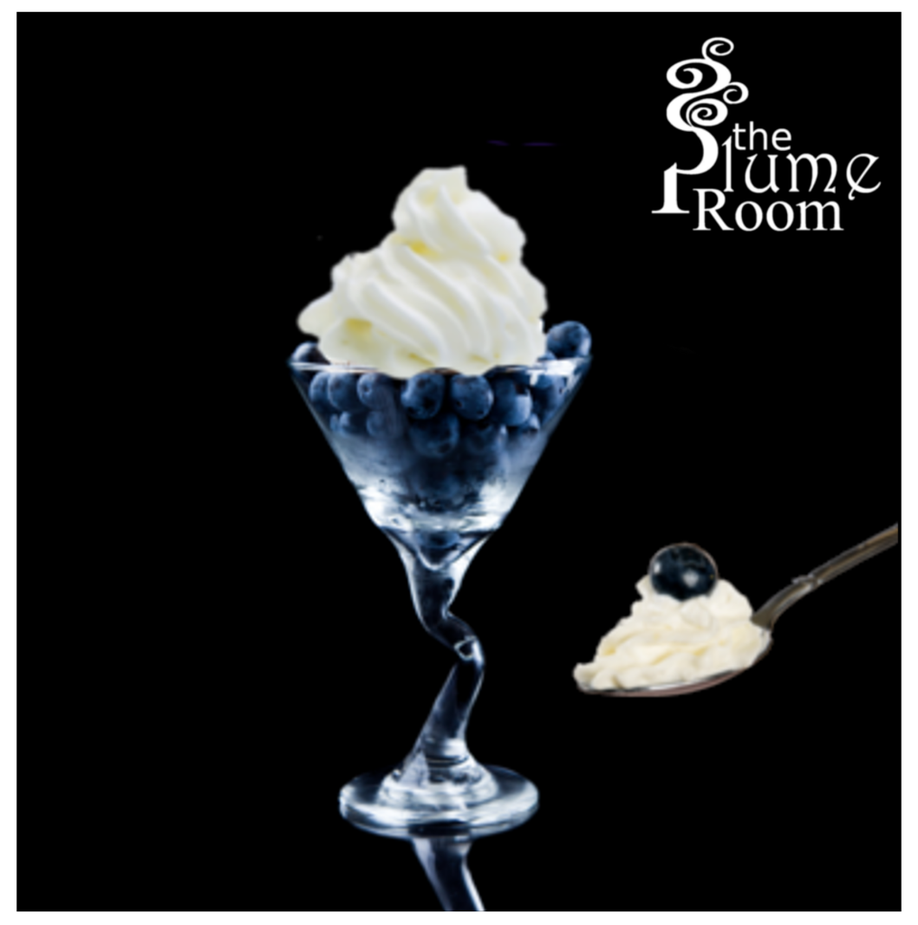 【Blueberry and Fresh Cream】(30ml) THE PLUME ROOMの画像