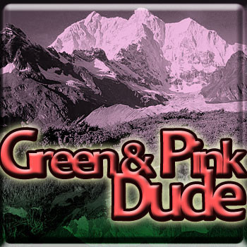 【Green&Pink Dude】(15ml) The Vapor Girlの画像