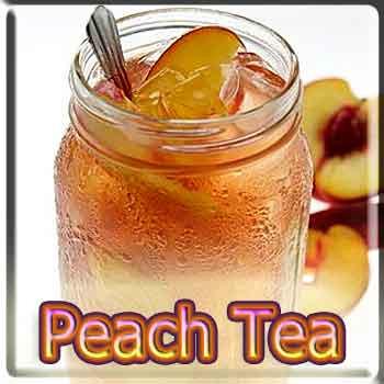 【Peach Tea】(15ml) The Vapor Girlの画像