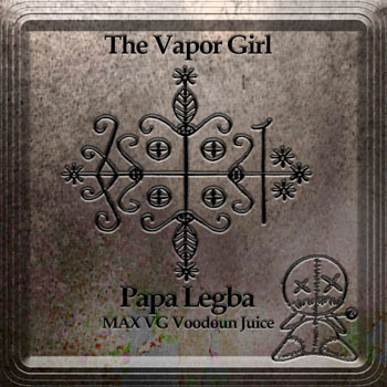 【Papa Legba-MAX VG(glass bottle)】(30ml) The Vapor Girl画像