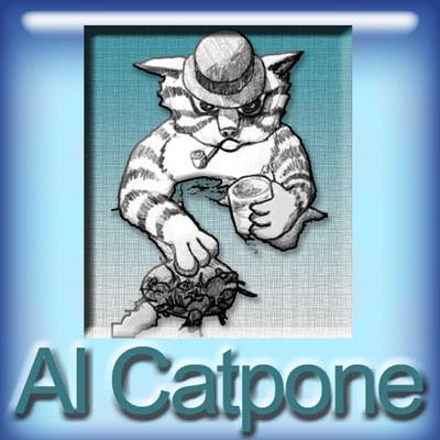 【Al Catpone-MAX VG(glass bottle)】(30ml) The Vapor Girlの画像