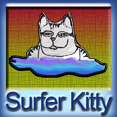 【Surfer Kitty-MAX VG(glass bottle)】(30ml) The Vapor Girlの画像
