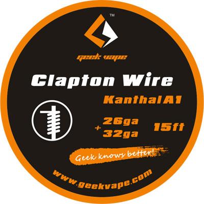 【Clapton Wire】Geek Vapeの画像