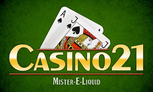 【Casino21】(10ml)Mister-E-Liquidの画像