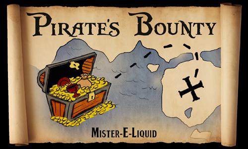 【Pirate's Bounty】(10ml)Mister-E-Liquidの画像