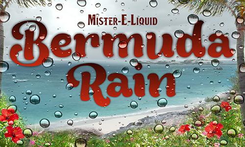 【Bermuda Rain】(10ml)Mister-E-Liquidの画像