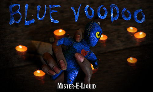 【Blue Voodoo】(10ml)Mister-E-Liquidの画像