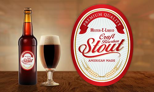 【Craft Bourbon Stout】(10ml)Mister-E-Liquidの画像