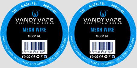 【SS316L MESH-WIRE】VANDY VAPEの画像