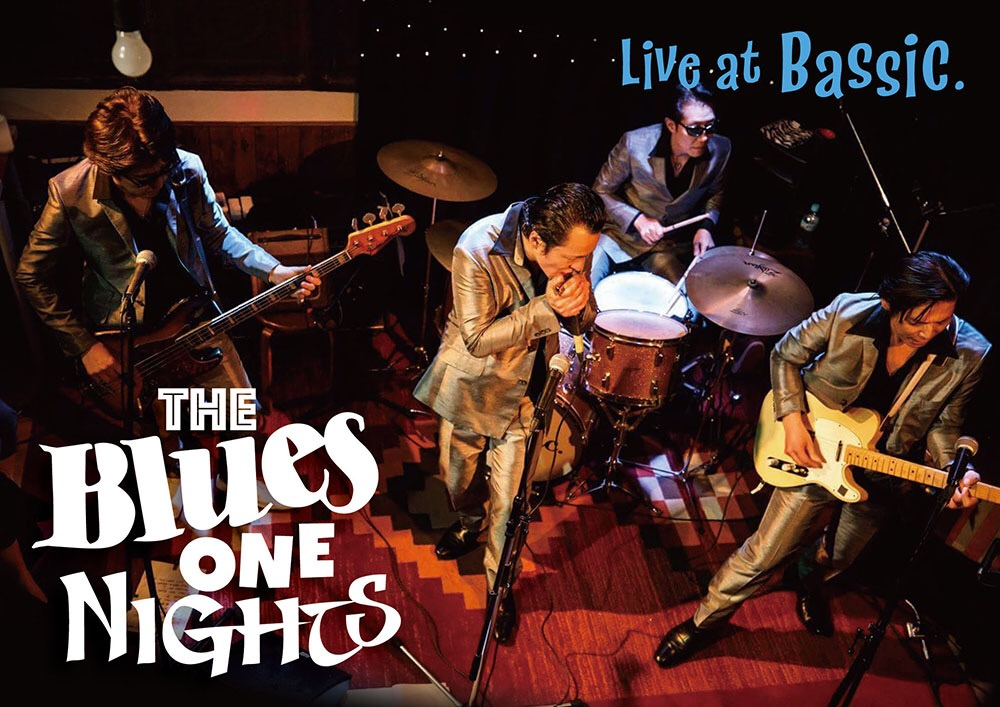 The Blues One Nights  LIVE AT BASSIC DVD画像