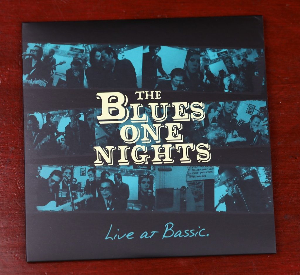 The Blues One Nights 【LIVE AT BASSIC】CDの画像