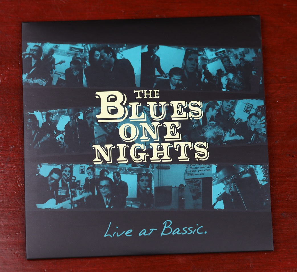 The Blues One Nights 【LIVE AT BASSIC】CD画像