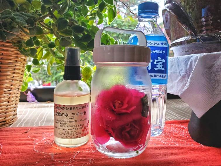 酵母水マイスター向け予約販売!三千世界+無農薬サザンカ酵母水作成キットの画像