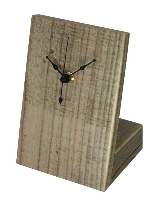 OLD ASHIBA(足場板古材)置き時計の画像