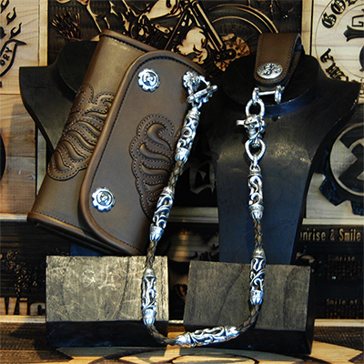 Biker Wallet -KING- & Roller Wallet Ropeの画像