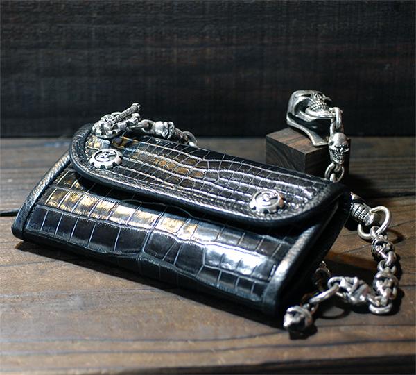 2Snap Long Wallet -CROCODILE-画像