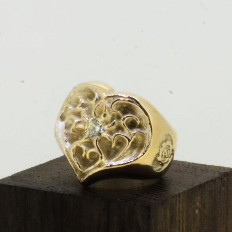 K10 Arabesque-Heart-Ringの画像