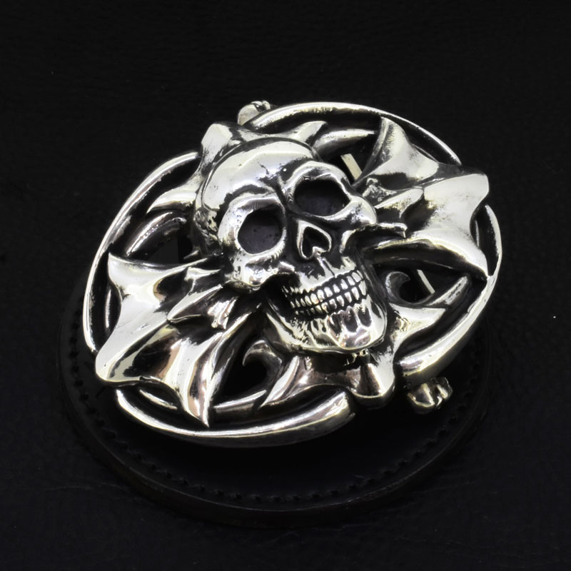 Skull Cross Backle(M)の画像