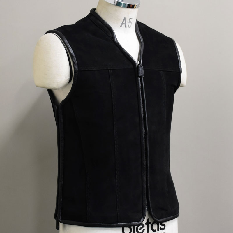 VALOR CLUB VEST -LEATHER- 1画像