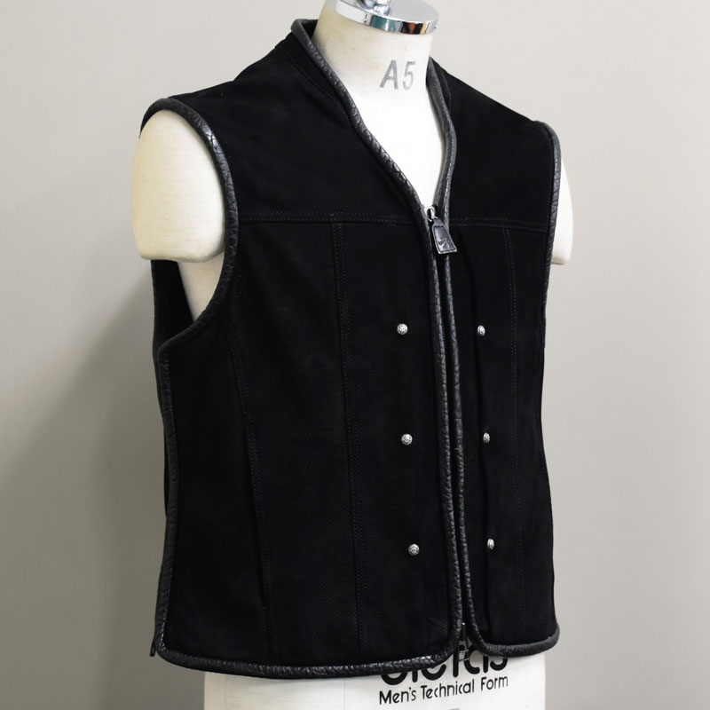 VALOR CLUB VEST -LEATHER- 2の画像