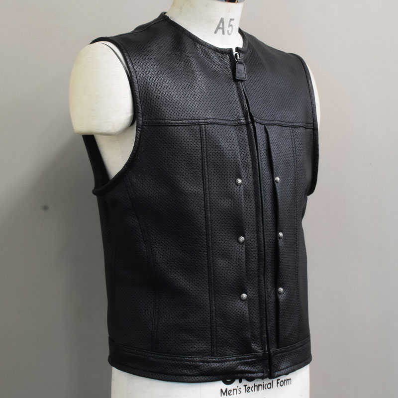 BLAST CLUB VEST -LEATHER- 3の画像
